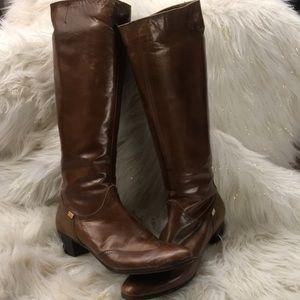 Salvatore Ferragamo tall boots size 8.5 NWT